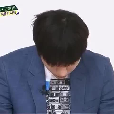 うぉっちゃいちょり#infinite #Sungyeol #dongwoo #songjong #woohyun #hoya #Myungsoo #おこ メンバーにバカにされるミョンス