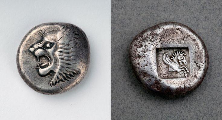 MÖ 6. yüzyıla ait gümüş Kolkhis sikkesi - Kolhis - Vikipedi-MÖ 6. yüzyıla ait gümüş Kolkhis sikkesi
