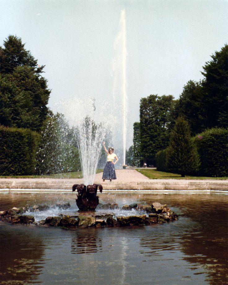 Epic  Herrenhausen garten fontein