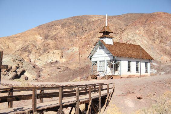 Szkoła w Calico Ghost Town  Calico, Kalifornia, USA