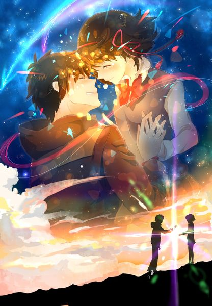 """Kimi no Nawa- """"your Name"""" I want to see this so bad!"""
