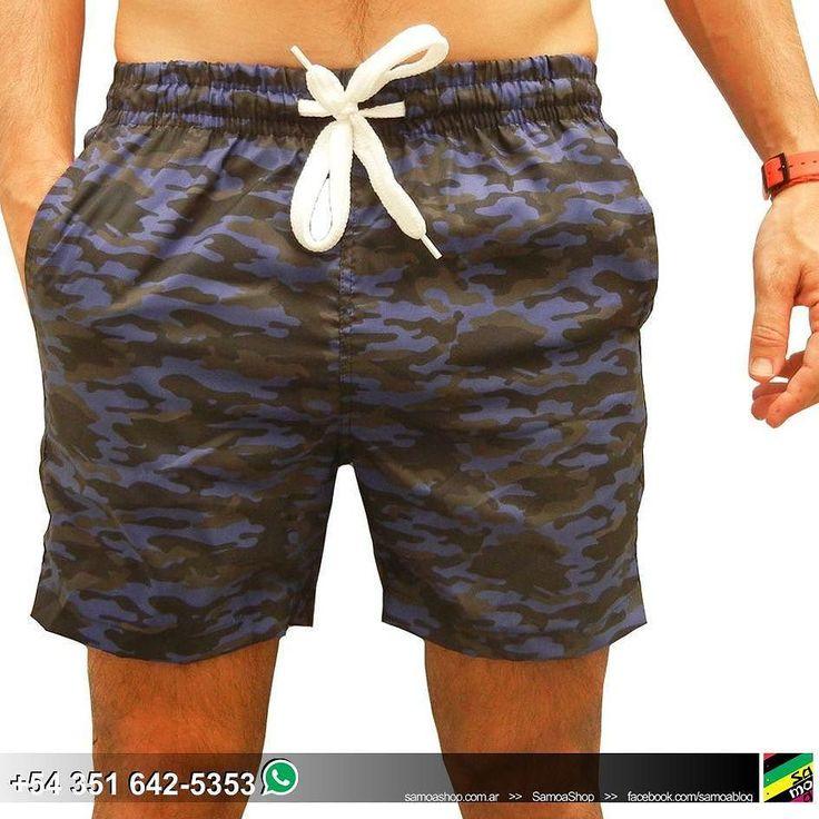 #Short de baño #Camo azul .    #Shorts #Swim #swimwear #Mens #MensWear #Summer #Verano #StreetStyle #ootd #goodstuff #MenStyle #Menwear #InstaShop #Malla . . . .  http://ift.tt/1LsBXF5.  #SamoaShop > 9 de Julio 445 #Cordoba.  543516425353 #Whatsapp