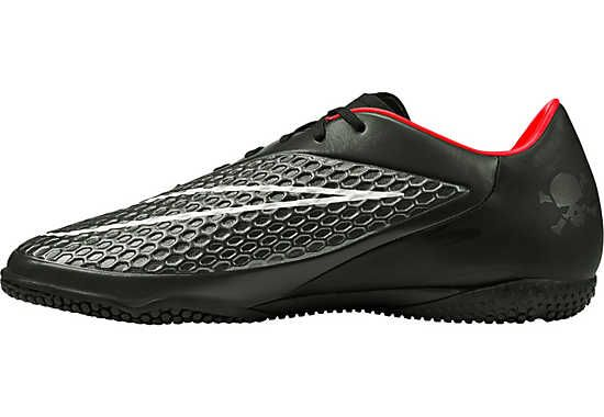 Nike Hypervenom Phelon IC Indoor Shoes - Black and Hyper Punch...available at SoccerPro!
