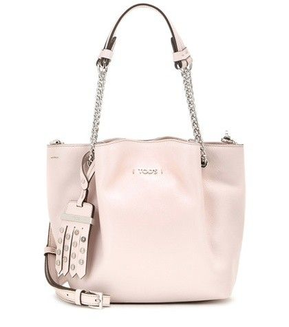 FLOWER MICRO LEATHER HAND BAG TOD'S