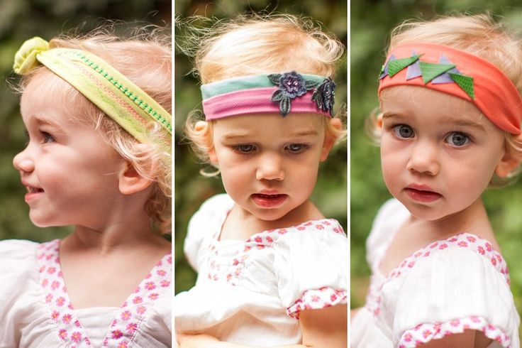 Holiday gift-giving season is right around the corner, and we're drumming up all sorts of DIY gift ideas starting… now! For this tutorial, we'll show you three easy ways to make hipster headbands for babies, toddlers, or little kids. Truth be told, you could totally make these for yourself as well! Read on to see how it's done.