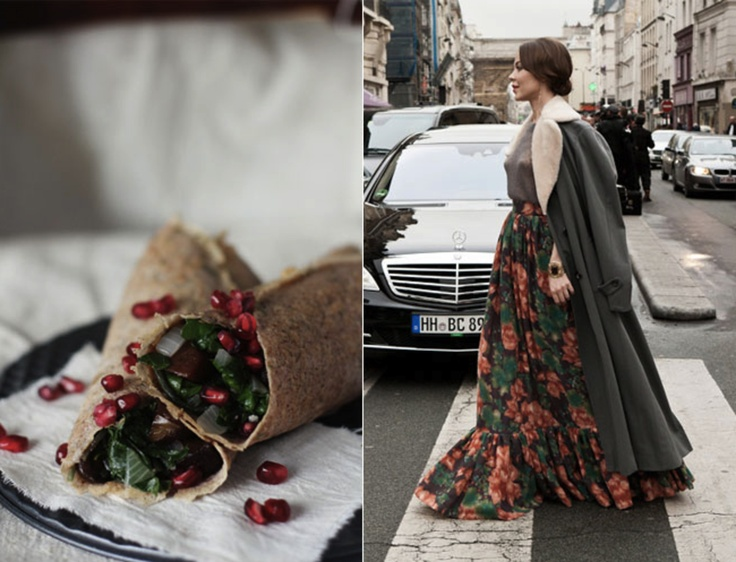 Be inspired! #Food and #Fashion