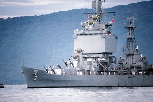 USS Long Beach CGN-9 entering Subic Bay-650x433 by Edward-55.deviantart.com on @DeviantArt