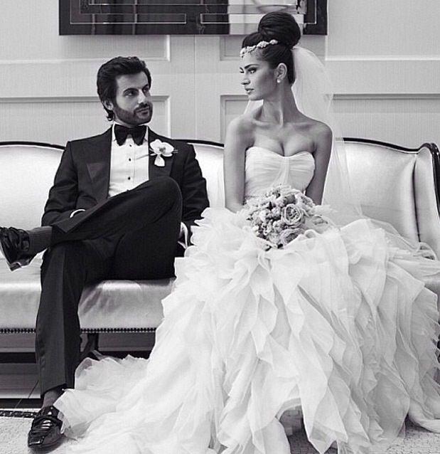 American Wedding Cast: Persian Bride And Groom