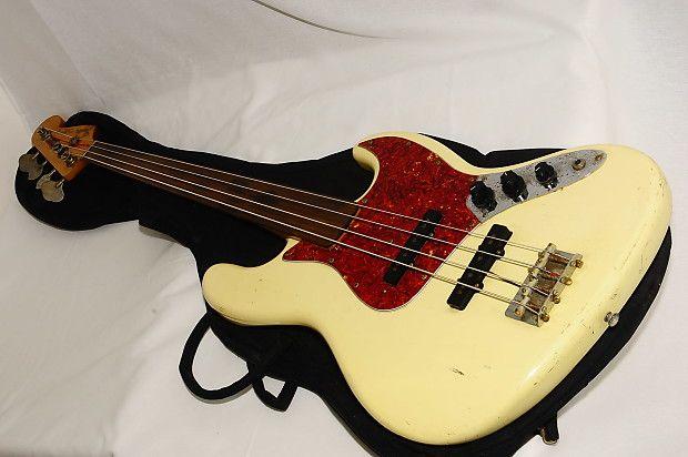 Fender Japan Fretless Jb 62fl F Serial Jazz Bass Guitar Ref No 1705 Product Value Reverb Fender Japan Guitar Bass Guitar
