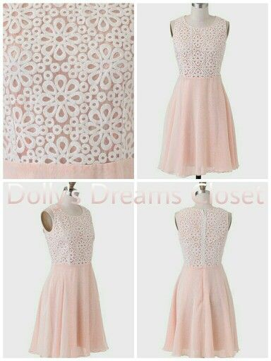 Delicate and beautiful dress for a special ocassion!