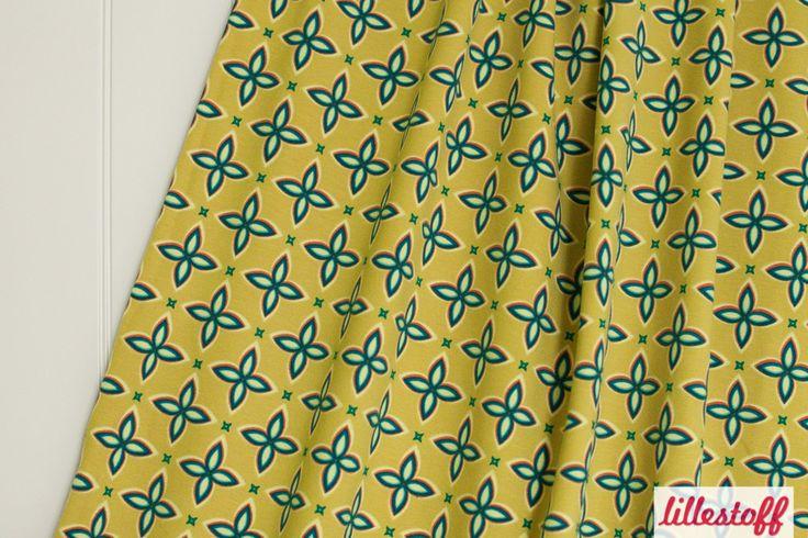 lillestoff » Diamonds « // Design: nicibiene // hier erhältlich: http://www.lillestoff.com/diamonds-olive.html