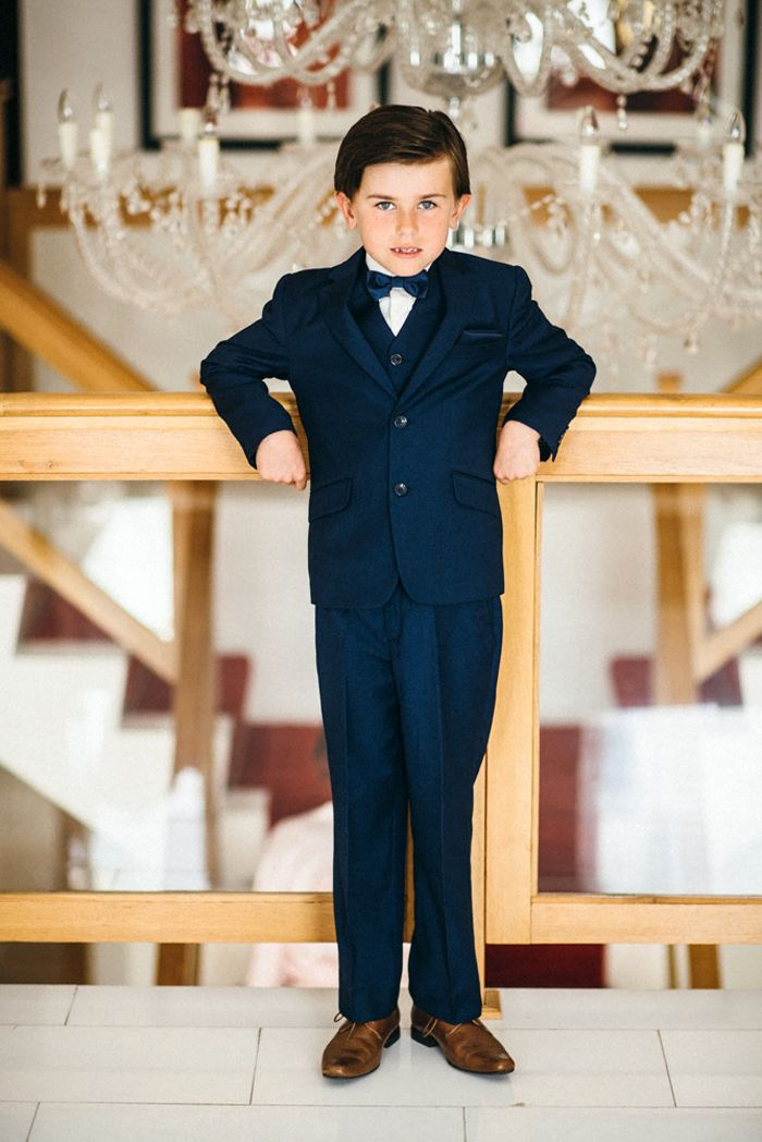 elegant kid at wedding