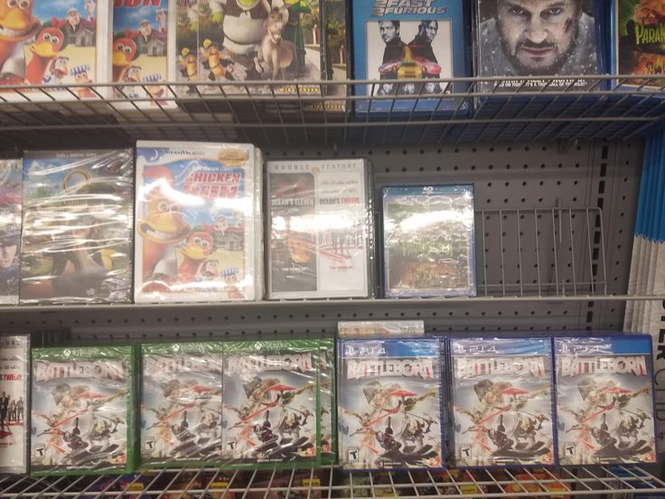 Over 60 copies of Battleborn for sale at my local Dollar Store.