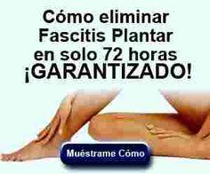 Remedios Caseros para el dolor de talon de pies (Fascitis)
