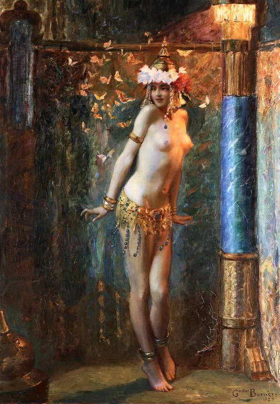 Danseuse II Gaston Bussière (1862-1929)