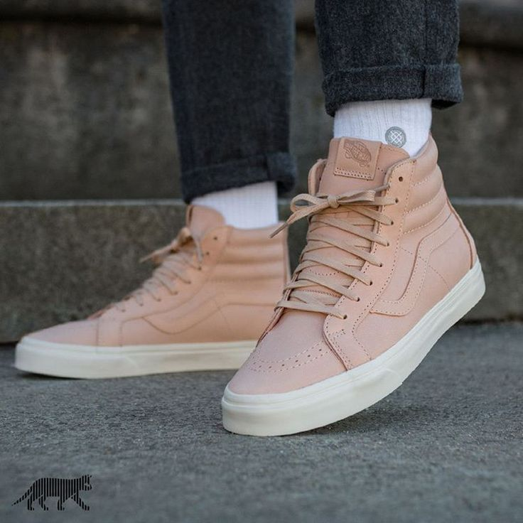 Vans sk8hi REISSUE ZIP Classics Veggie Tan Leather Tan Mis. 45