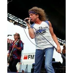 Foreigner   Lou Gramm   Photo Art Poster Print 1993