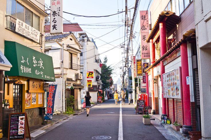 Sidestreets of Shibuya