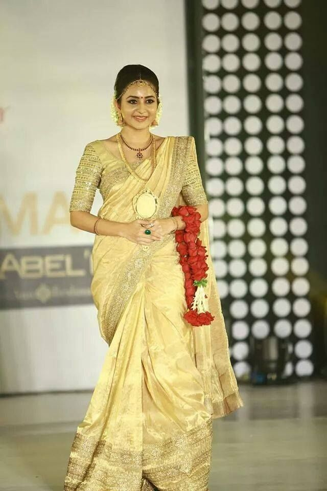 Bhama in Bridal Wear