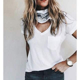Blogger Trend: Bandana Around Your Neck...