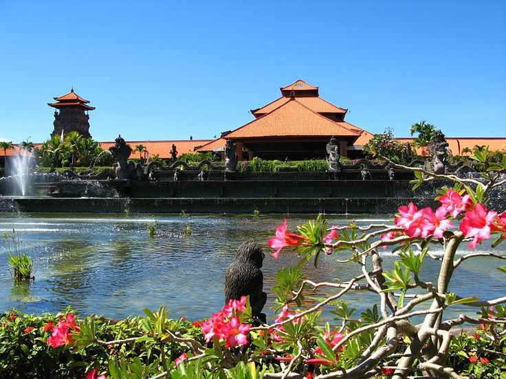 Gardens at Ayodya Resort, Nusa Dua, Bali, Indonesia
