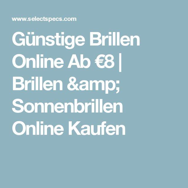 Günstige Brillen Online Ab €8 | Brillen & Sonnenbrillen Online Kaufen