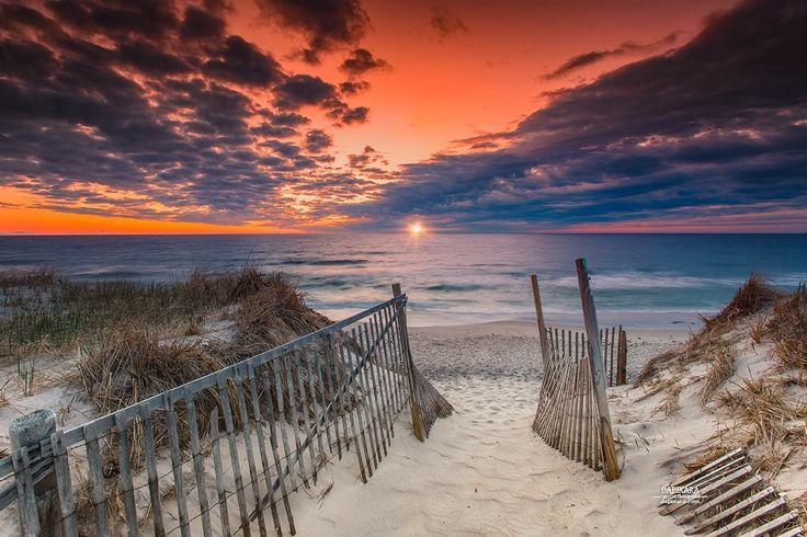 Divine Ocean sunrise today at Nauset beach! Orleans Cape Cod. Dapixara images https://dapixara.com