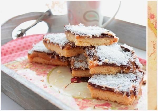 Песочное печенье со сгущёнкой и шоколадом | Рецепт ...