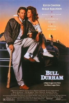 File:Bull Durham movie poster.jpg: Film, Sports Movie, Kevin Costner, Baseball Movies, Bull Durham, Favorite Movies, Movie Poster, Bulldurham, Durham 1988