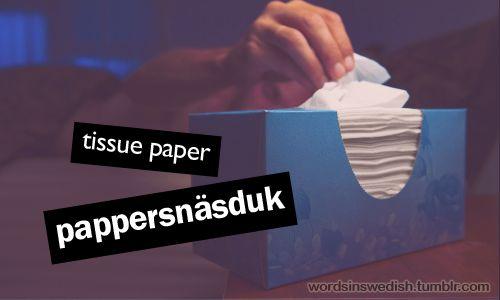 pappersnäsduk