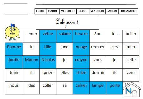 Mon Fichier d'exercices sur la NATURE DES MOTS CE1 CE2 grammaire facile Retz | BLOG GS CP CE1 CE2 de Monsieur Mathieu JEUX et RESSOURCES