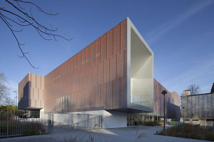 Gallery of Gymnase Jean Gachet / LINK - Chazalon Glairoux Lafond - architectes associés - 1