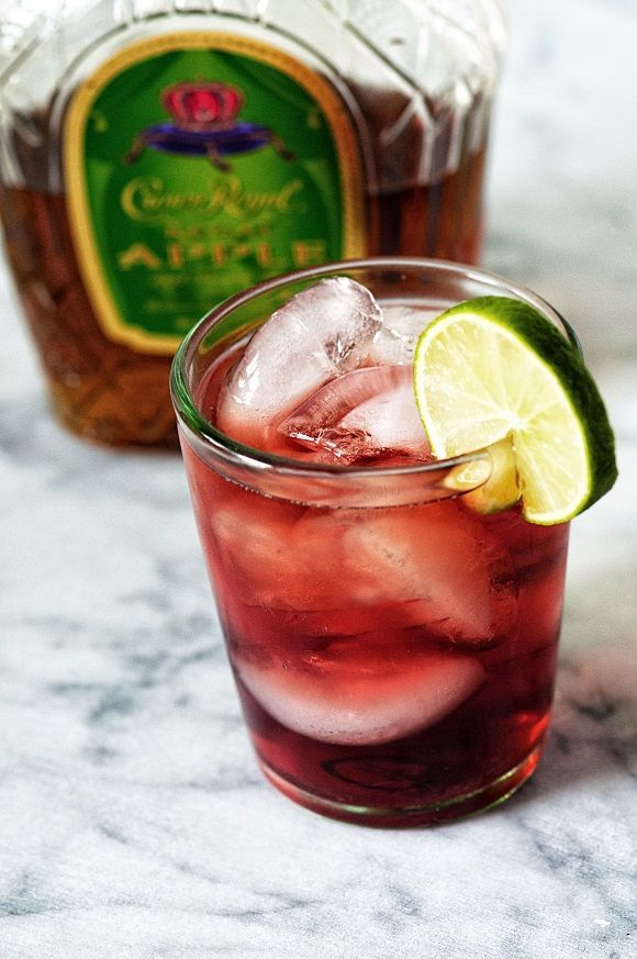 I make my Washington Apple Cocktail with Apple Flavored Whiskey, Sour Apple Pucker, and Cran-Apple which is a slight variation on the original, but I think even better.