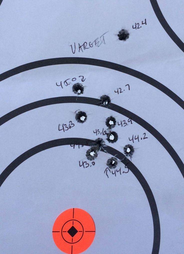 308 Winchester 175 Sierra MatchKing Ladder Test with Varget