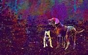 "New artwork for sale! - "" Weimaraner French Bulldog Bulldog  by PixBreak Art "" - http://ift.tt/2uKCUUW"