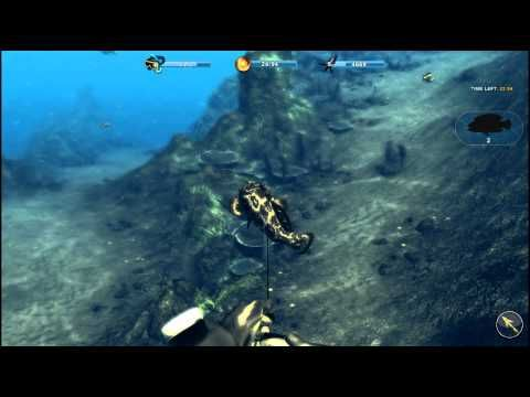Depth Hunter 2 Deep Dive PC game 2014 rewiew spear fishing game Thailand...