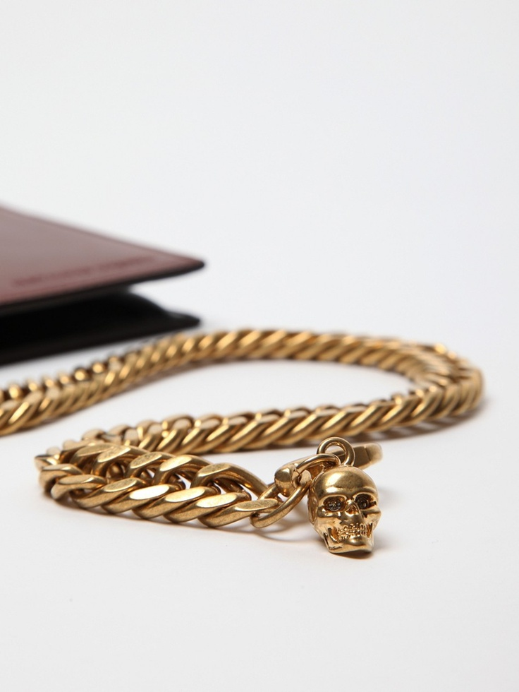 The Alexander McQueen Wallet with Chain Fob for autumn/winter '11Christmas Gift