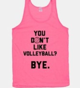 Crazy for volleyball <3