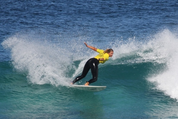 Women's finalists determined at Margaret River.  Surfing, surfboard, waves, beaches
