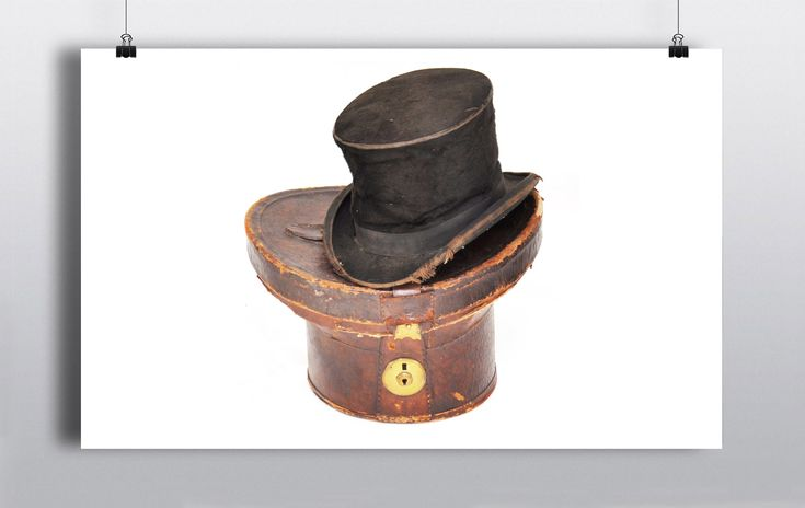 2 x Black top hats (one in a brown leather case) http://www.prophouse.ie/portfolio/top-hats/