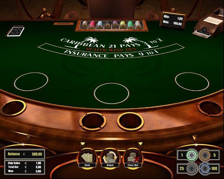 Caribbean Blackjack! For more games register on http://casino-goldenglory.com/