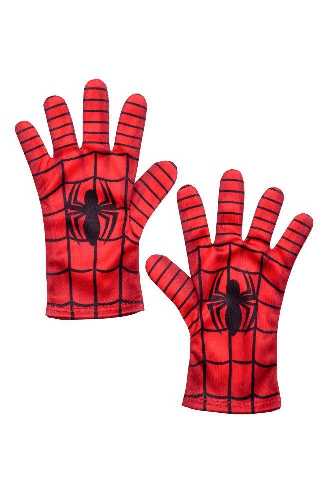 Guantes de superhéroe - Rojo/Spiderman - NIÑOS | H&M ES 1