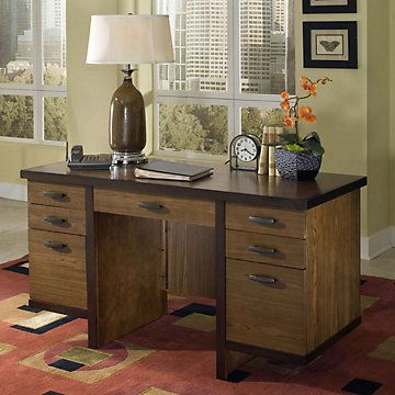 home office with neutral colors stylish and efficient home office idea geo executive desk