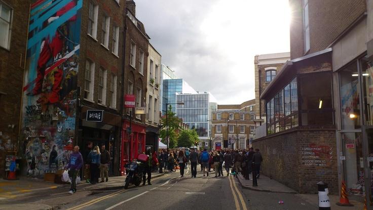 Brick Lane, East London June2012