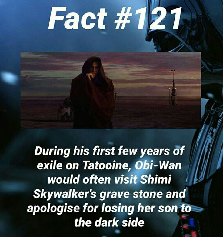 I did not know this // Star Wars Facts<<That is so sad :'(