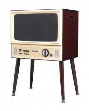 """レトロゲームにぴったり?""""ブラウン管テレビ風の20型液晶テレビ""""が11月中旬に発売"""