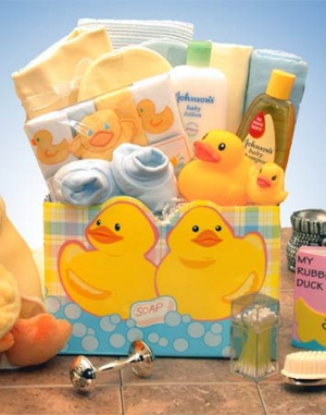 25 unique baby tub gift basket ideas on pinterest baby shower just ducky new baby gift from baby gifts and gift baskets negle Images