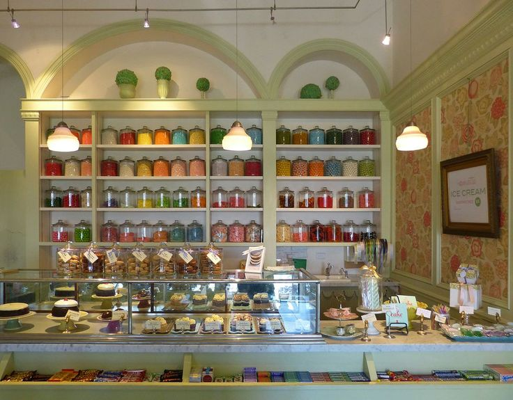 Candy Store- I don't know where this is but i like the arches