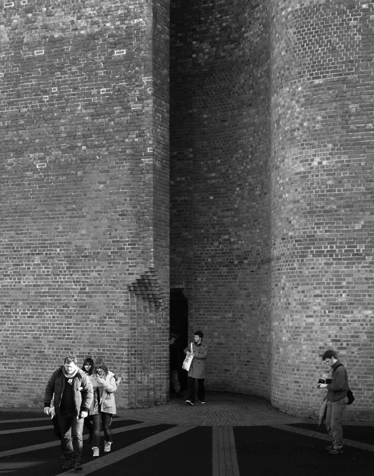 Visiting St Brides in East Kilbride by Gillespie Kidd  Coia (1963)