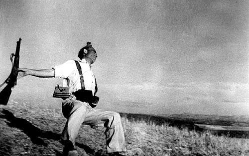 """Robert Capa no superó dos cosas, la muerte de Gerda Taro y su """"Muerte de un miliciano"""""""